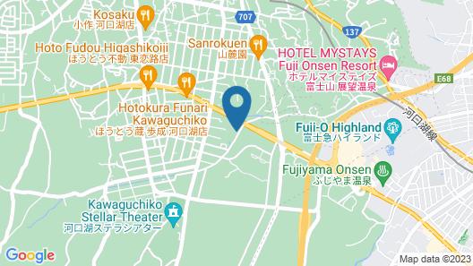 Hotel Regina Kawaguchiko Map