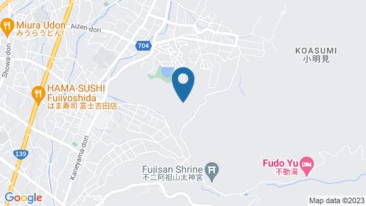 Mt.Shakushi Gateway Camp Map