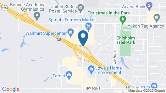 La Quinta Inn & Suites by Wyndham Oklahoma City -Yukon Map