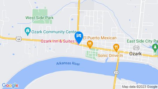 Ozark Inn & Suites Map