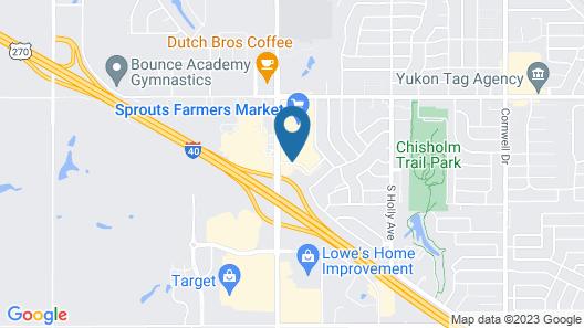 Hampton Inn Oklahoma City/Yukon Map