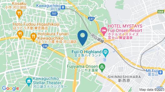 Fuji Gran Villa -Toki- Map