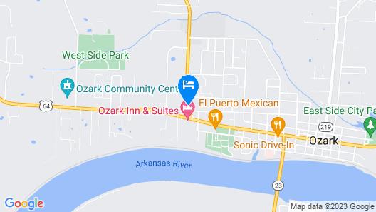 Oxford Inn Ozark Map