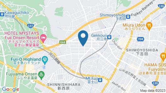 Fujisan YOU Apartment Map