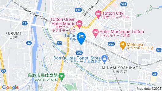APA Hotel Tottori-Ekimae Map