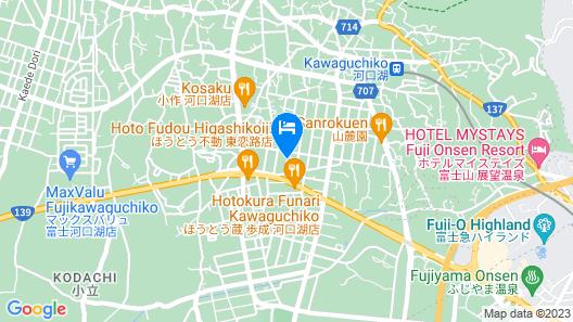 K's House Fuji View - Hostel Map