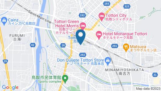 Super Hotel Tottori Ekimae Map