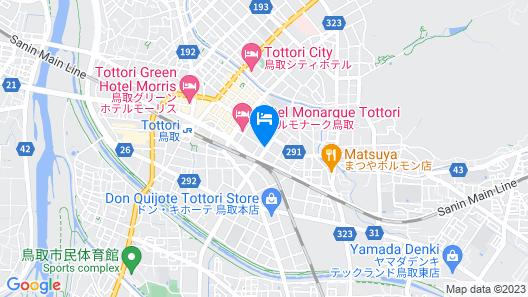 Kansuitei Kozeniya Map