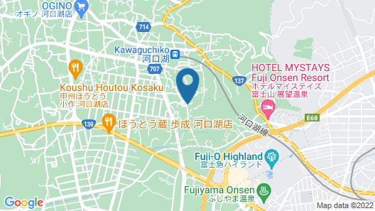 Villa Hanasaku Fujikawaguchiko B Map