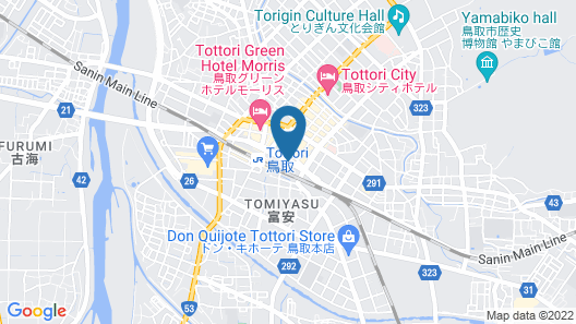 Tottori Washington Hotel Plaza Map