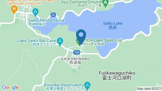 PICA FUJISAIKO - Campsite Map