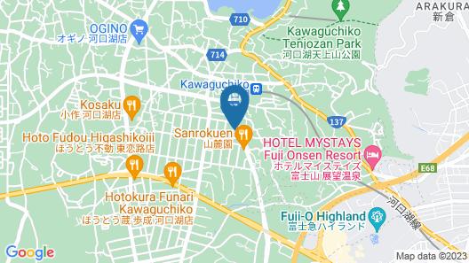 Tocoro. Mt. Fuji Yayoi Map