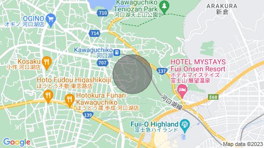 Villa1 Fuji / Minamitsuru-gun Yamanashi Map