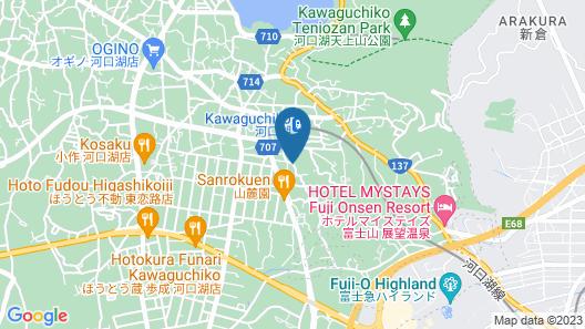 Id Stay Kawaguchiko Map