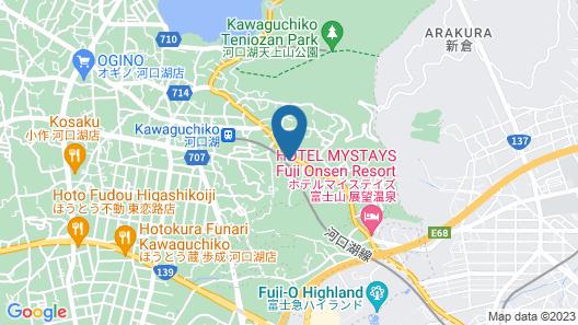 Mt. Fuji Resort Club-ZEN- Map