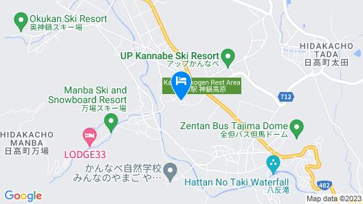 BLUE RIDGE HOTEL Map