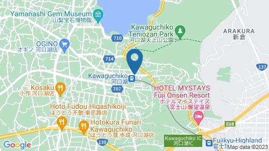 Kawaguchiko Station Inn Map