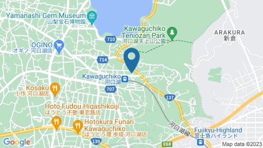 Plaza INN Kawaguchiko Map