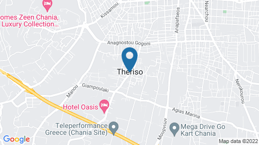 Chania Urban Living Map