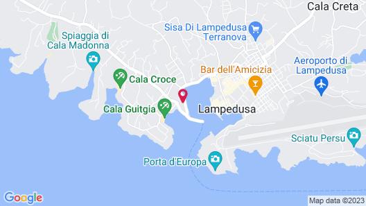 Hotel Paladini di Francia Map