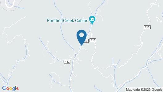 Panther Creek Cabins Map