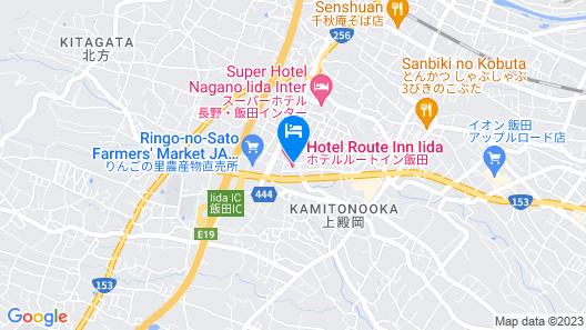 Hotel Route-Inn Iida Map