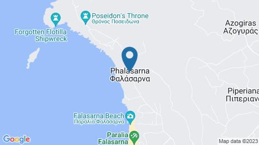 Falassarna Beach Map