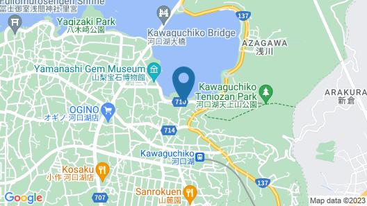 Fuji Lake Hotel Map