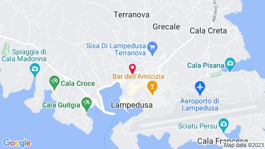 Hotel O'scià Map