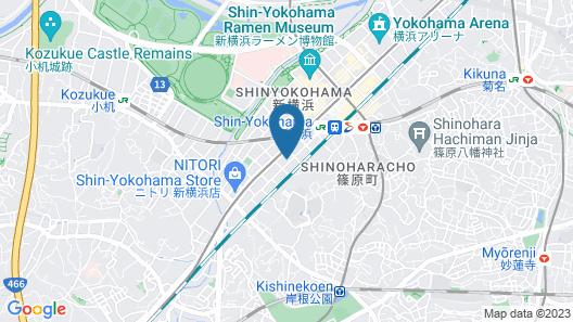 REFTEL Shinyokohama - Adult Only Map