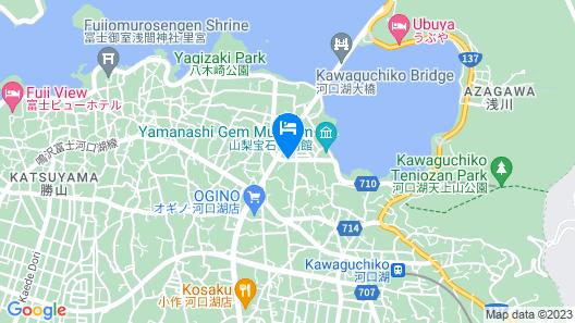 Toyoko Inn Fuji Kawaguchiko Ohashi Map