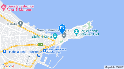 Dar Jamila Map
