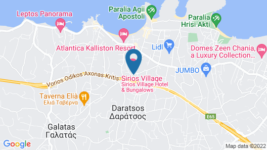 Sirios Village Hotel & Bungalows- All Inclusive Map
