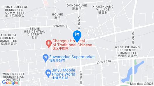 Jinjiang Inn Style Jincheng Qixing Plaza Map