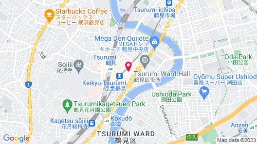 Best Western Yokohama Map