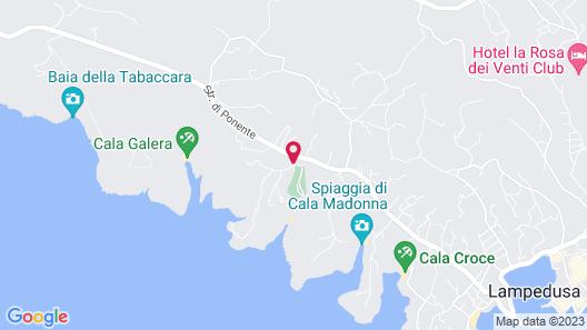 Camping La Roccia Map