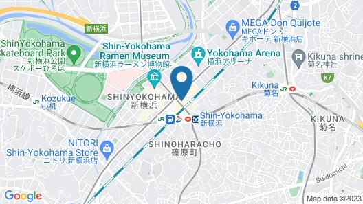 Associa Shin Yokohama Map