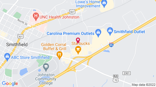 Holiday Inn Express Hotel & Suites Smithfield - Selma I -95, an IHG Hotel Map