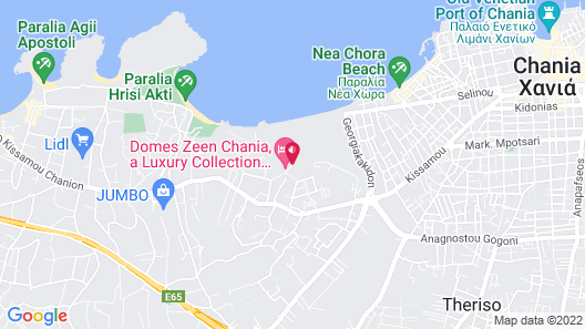 Domes Zeen Chania, a Luxury Collection Resort, Crete Map