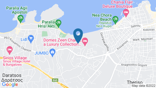 Sea View Hotel & Apartments Map