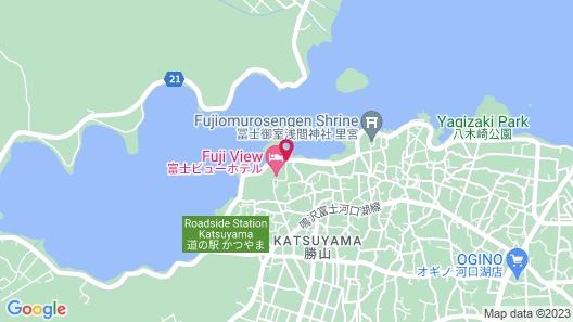 Fuji View Hotel Map