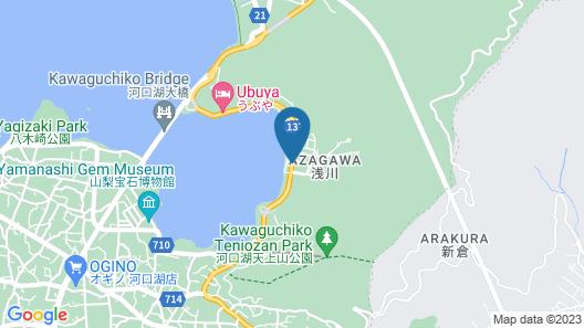 Hotel Koryu Map