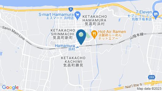 Hamamura Onsen Totoya Map