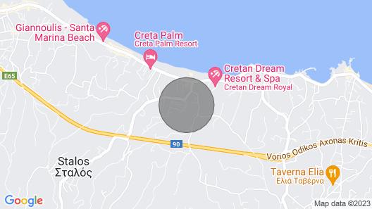 Villa Kleanthi Luxury Interior Design Heated Pool Dreamvillas Crete Map