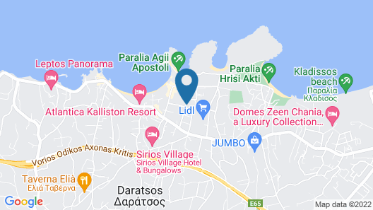 Veronica Hotel Map