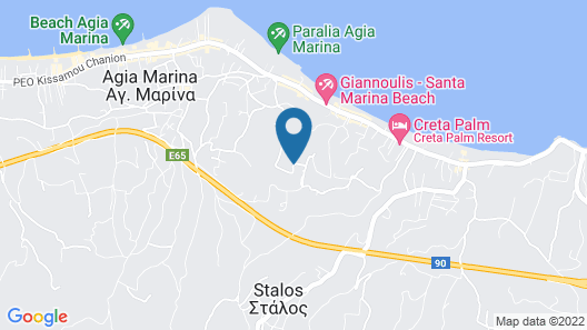 Eleftheria Hotel Map