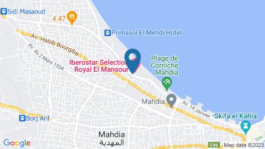Iberostar Selection Royal El Mansour Map