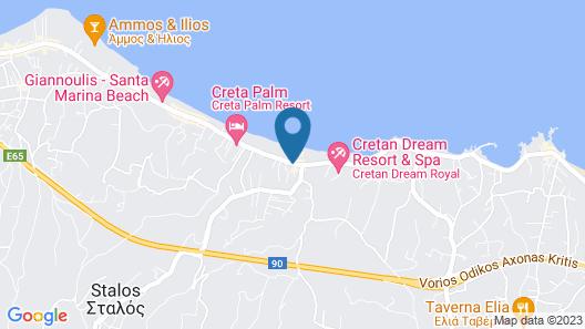 Alkion Hotel Map
