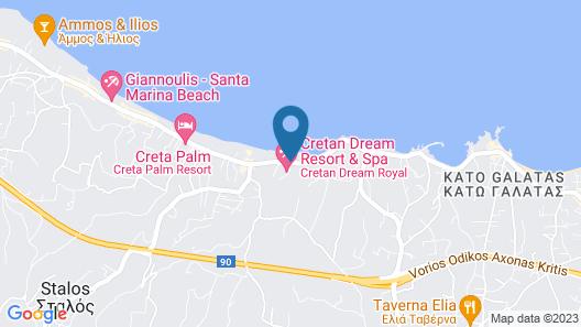 Cretan Dream Royal Hotel Map