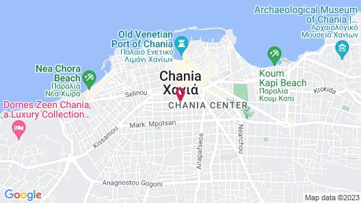 Samaria Hotel Map